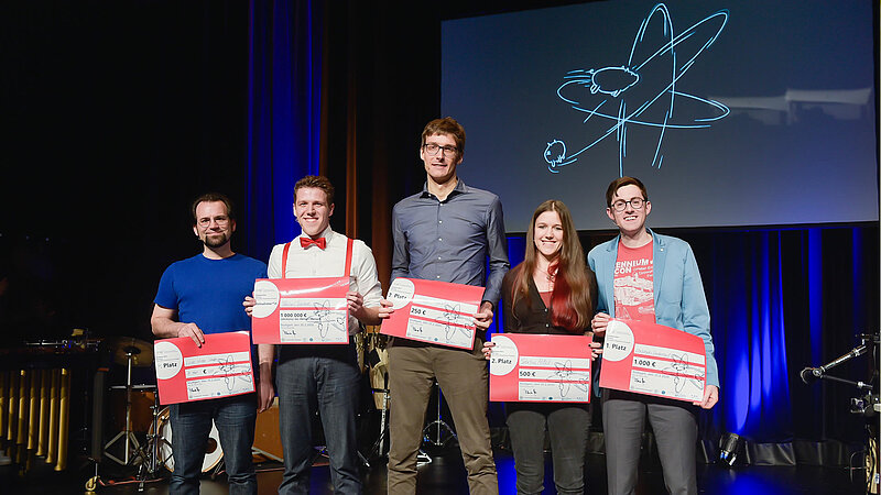 Q-Science Slam @Theaterhaus Stuttgart, 25.02.2020